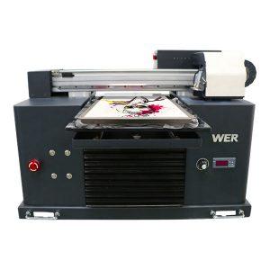 a4 dtg plošni pamuk tkanina pisač t-shirt tiskarski stroj