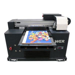 2019 novi dx5 glava plošni pisač a3 veličina uv vodio tiskarski stroj