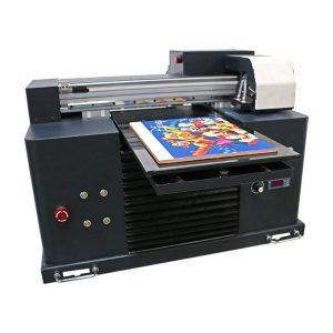 inkjet tiskarski stroj vodio flatbed uv pisač za a3 a4 veličine