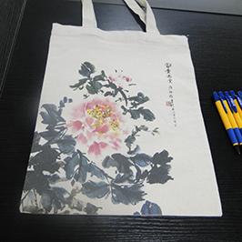 Ispis uzoraka platnene vrećice pisačem za majicu A2 WER-D4880T
