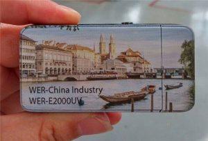 Električni upaljač tiskan je malim UV pisačem veličine A3 - WER-E2000UV