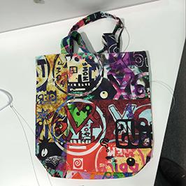 Uzorak za tiskanje vrećica za netkane tkanine pomoću digitalnog tekstilnog pisača A1 WER-EP6090T