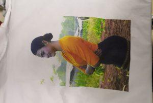 T-shirt tisak uzorak za Burma klijenta iz WER-EP6090T pisač